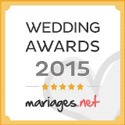 Mariages.net recommande Forever - Décorations de mariage, label Weddings Awards 2015