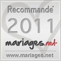 Mariages.net recommande Forever - Décorations de mariage, label argent 2011