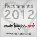 Mariages.net recommande Forever - Décorations de mariage, label argent 2012