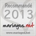 Mariages.net recommande Forever - Décorations de mariage, label argent 2013