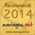 Mariages.net recommande Forever - Décorations de mariage, label or 2014