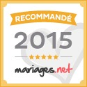 Mariages.net recommande Forever - Décorations de mariage, label or 2015