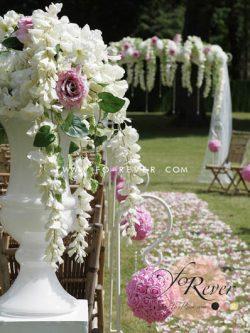 Grand decor floral pour mariage
