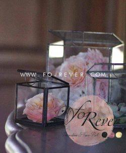 Location Boite en verre - Vintage - FoRever - Décoration de mariage