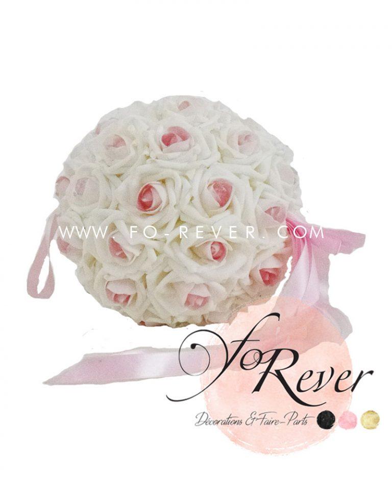 Boule Cœur Rose