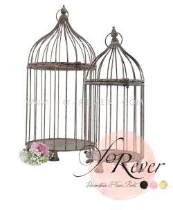 Location Cage à oiseau - Vintage - deux tailles - FoRever Décoration de Mariage