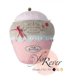 Location Coussin cupcake - FoRever décoration de mariage