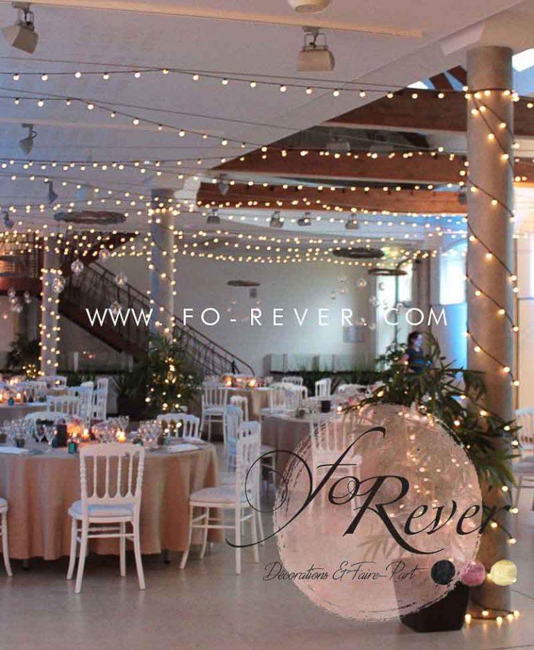 Guirlande lumineuse - FoRever décoration de mariage