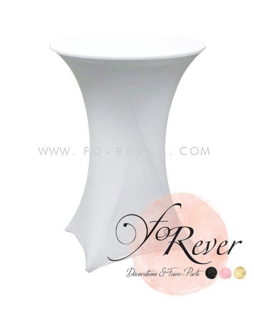Mange-debout - Housse blanche - FoRever - Décorations de mariage