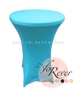 Mange-debout - Housse Turquoise - FoRever - Décorations de mariage