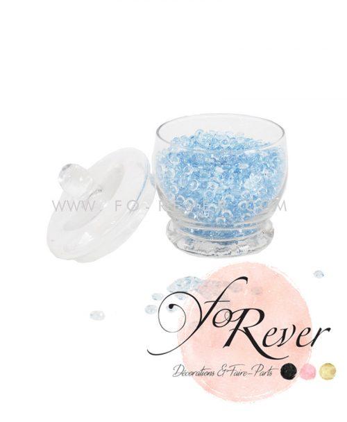 Perles de pluie - bleu clair - FoRever - Décoration de Mariage