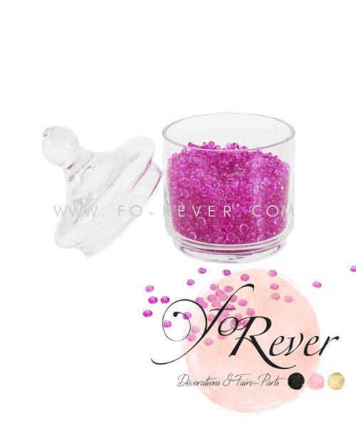 Perles de pluie - fuchsia - FoRever - Décoration de Mariage