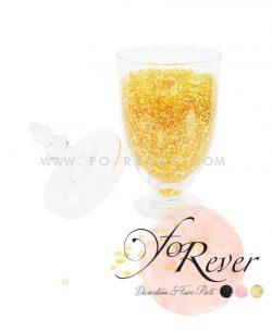 Perles de pluie - miel - FoRever - Décoration de Mariage