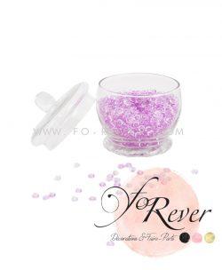 Perles de pluie - mauve - FoRever - Décoration de Mariage