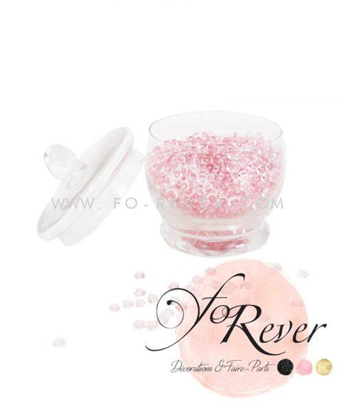 Perles de pluie - rose - FoRever - Décoration de Mariage