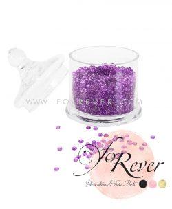 Perles de pluie - violet - FoRever - Décoration de Mariage