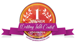 Gagnant du Wedding Table Contest 2019 Premiere Place