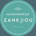 Badge Zankyou.fr recommande Forever