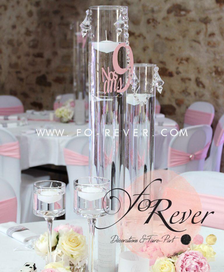 Vases Colonnes Cylindrique