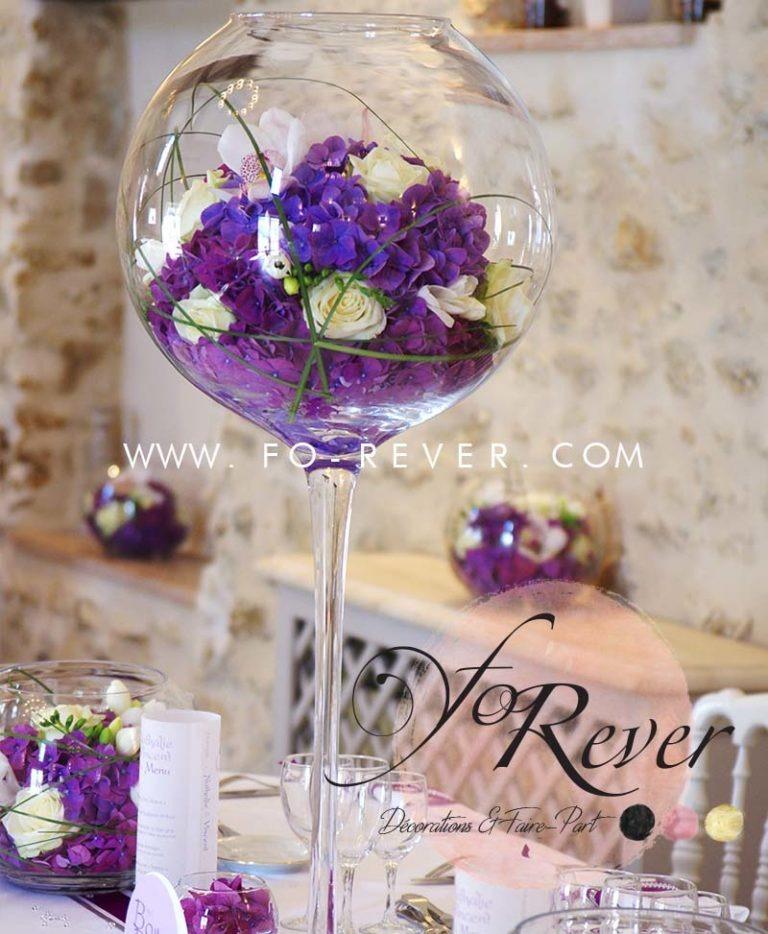 Vase Boule sur Pied