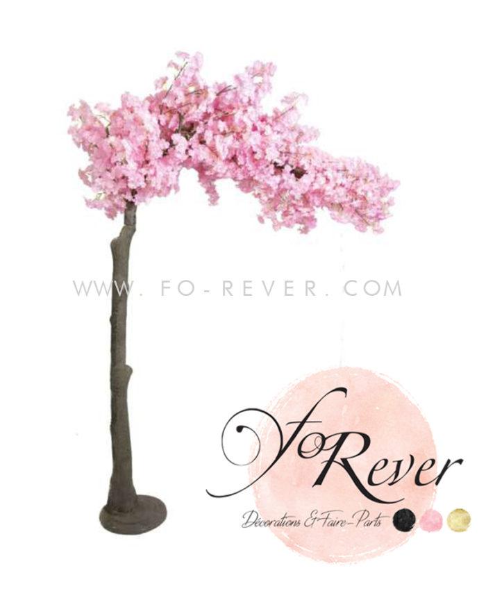 Arche cerisier cérémonie