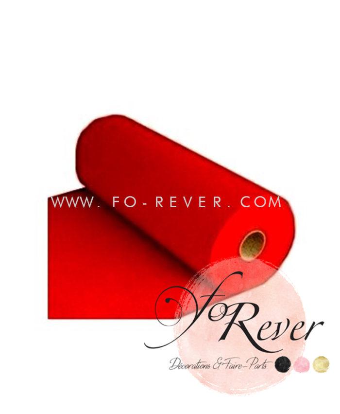 Tapis de Cérémonie Rouge 15ml