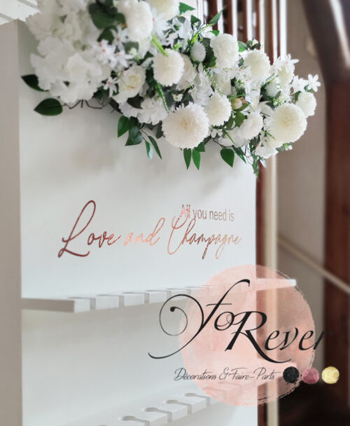 mur a champagne mariage location