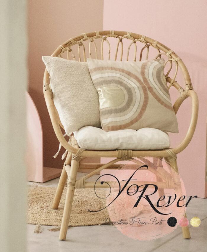 Canapé Rotin et ses fauteuils